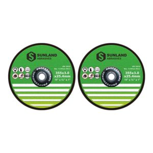 отрезные диски 355x3x25.4mm