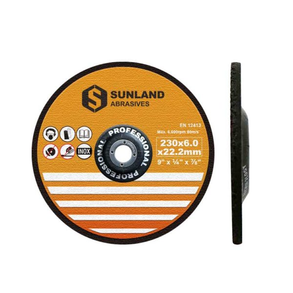 Sunland Grinding discs 230x6x22